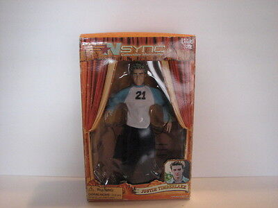 *Justin Timberlake* Collectible Marionette Doll NSync Living Toys 2000
