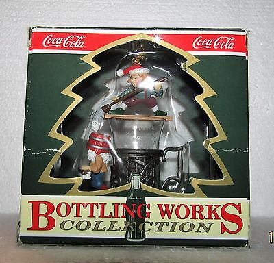 "Coca-Cola Bottling Works Collection ""Fountain Glass Follies"" Christmas Ornament"