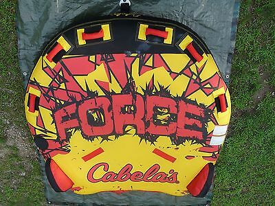 Cabela's Force Towable Three Person (510 Pounds Total) Inflatable Tube