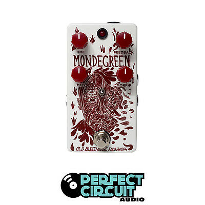 Old Blood Noise Endeavors Mondegreen Delay EFFECTS - DEMO - PERFECT CIRCUIT