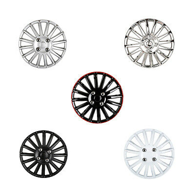 "Lightning  13""/14""/15"" Car Wheel Trims Hub Cap Plastic Covers Universal UK T8"