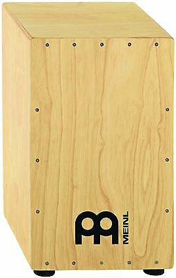 Meinl Percussion HCAJ1NT Headliner Series Rubber Wood String Cajon, Medium, HVI