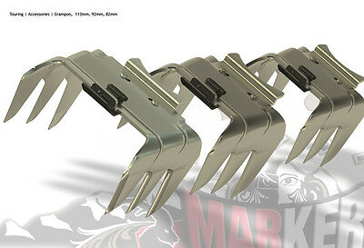 Rampant Crampons Knives for MARKER TOUR / BARON DUKE by max center ski 120 mm