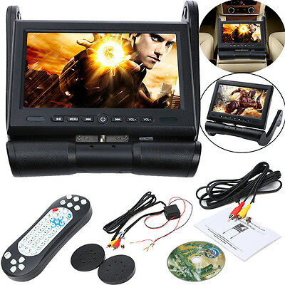 "8.5"" HD LCD Screen Car Armrest DVD/USB/SD Stereo Player Radio Monitor Game IR FM"