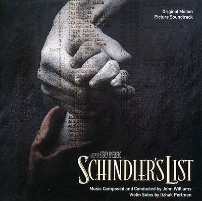 John Williams - Schindler's List (Original Soundtrack) [New CD]