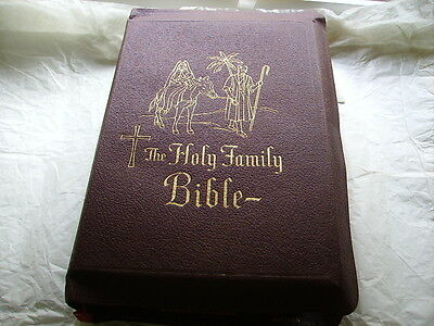 Reduced - Vintage Holy Family Edition of the Catholic Bible - 1956