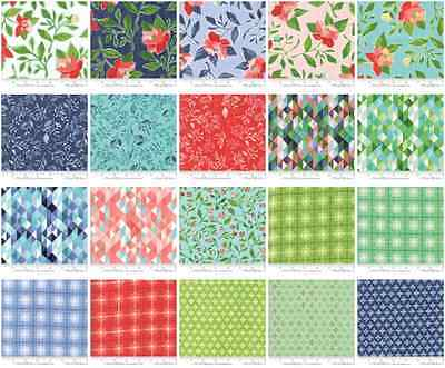 Patchwork/quilting Fabric Moda Charm Squares/packs - Hazlewood