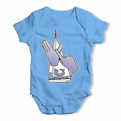 Twisted Envy Sign Language Letter Y Baby Unisex Funny Baby Grow Bodysuit