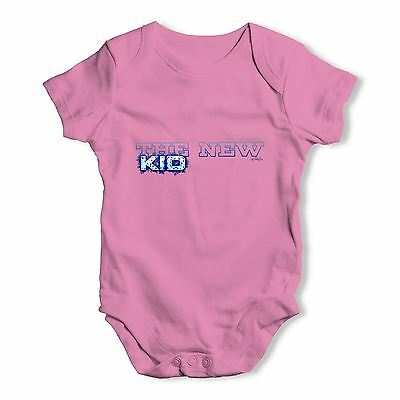 Twisted Envy The New Kid Baby Unisex Funny Baby Grow Bodysuit
