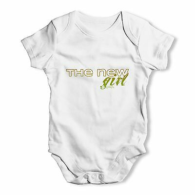 Twisted Envy The New Girl Baby Unisex Funny Baby Grow Bodysuit