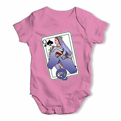 Twisted Envy Sign Language Letter Q Baby Unisex Funny Baby Grow Bodysuit