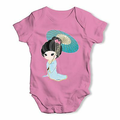 Twisted Envy Hanako Blue Baby Unisex Funny Baby Grow Bodysuit
