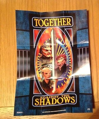 Babylon 5 - Together Against the Shadows A5 Promo Poster 1996 P1