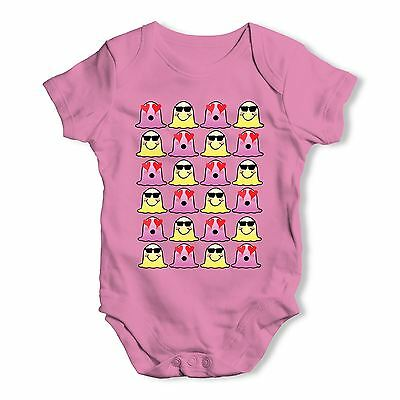 Twisted Envy Happy & In Love Blob Monster Baby Unisex Funny Baby Grow Bodysuit
