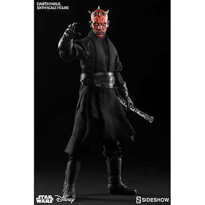 """Star Wars - Darth Maul Duel on Naboo 12"""" 1:6 Scale Action Figure NEW Sideshow"""