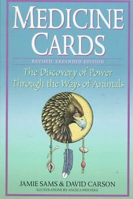 Medicine Cards by Jamie Sams 9780312204914 (Mixed media product, 1999)