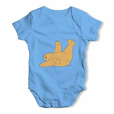 Twisted Envy Silly Bear Roll Baby Unisex Funny Baby Grow Bodysuit