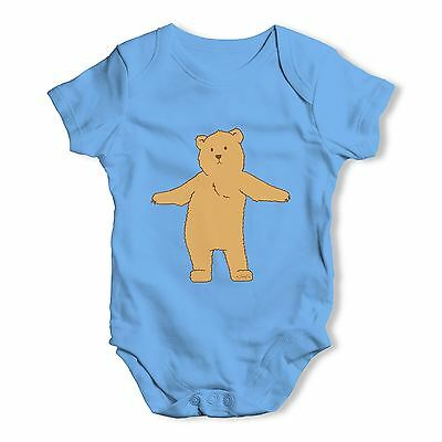Twisted Envy Silly Bear Dancing Baby Unisex Funny Baby Grow Bodysuit