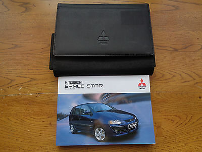 Mitsubishi Space Star Owners Handbook/Manual and Wallet 03-06