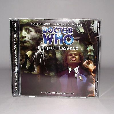 Doctor Who Big Finish CD 45 Project Lazarus Deleted Audio Book Drama 6th 7th Dr
