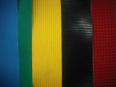 3mm Non-Slip Rubber Matting - Various Colours and Sizes