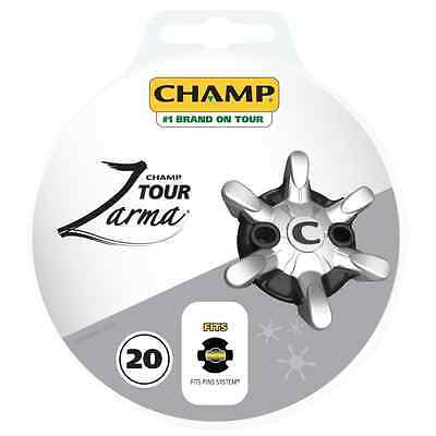 Champ Zarma Pin System (20 Pack) Golf Shoe Spikes