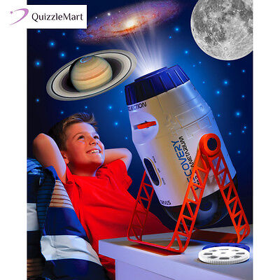 Star Projector Home Planetarium Discovery Kids Room Constellation Planet Space