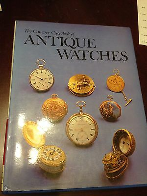 Camerer Cuss Antique Watches book, Camerer 1976 wristwatches collector reference