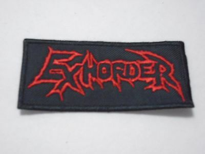 Exhorder Embroidered Patch