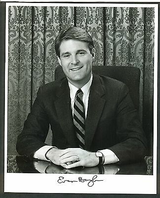 "Sen. Evan Bayh of Indiana - 8""x10"" AUTOGRAPHED Glossy Photo - w/ Law Firm Letter"