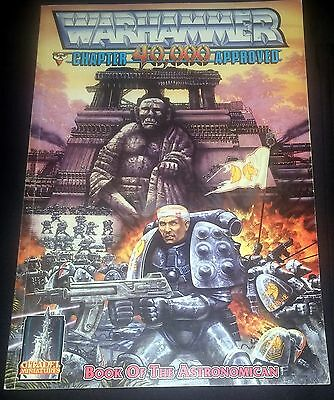 Warhammer 40k Book of the Astronomican 1988 Rules Rogue Trader great condition