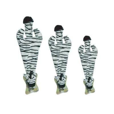 Best Pet Supplies PT46-L Zebra 2-en-1 Fun peau Large