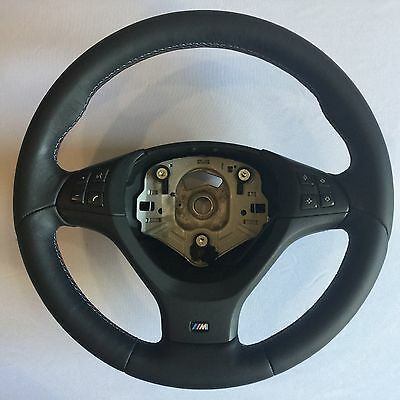BMW X5 X6 E70 E71 M-packet NAPPA Leather Steering Wheel Lenkrad OEM