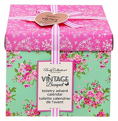 Body Collection Vintage Toiletry Bunting Advent Calendar