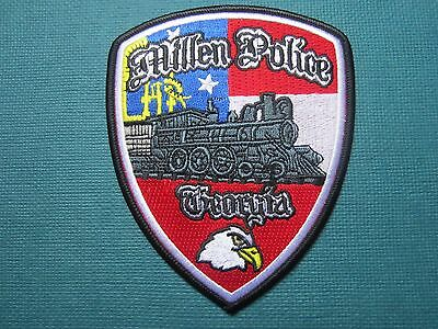 Collectible Police Patch Millen Georgia New