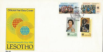 Lesotho 1983 Commonwealth Day FDC