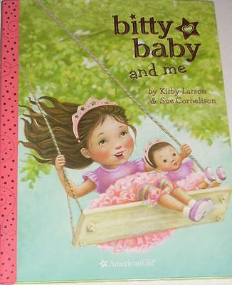 American Girl Bitty Baby & Me Hardcover Book Kirby Larson~Accessory Retail$14.99