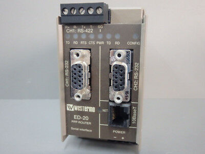 Ed20 - Westermo - Ed20 / Used Industrial Pstn Modem