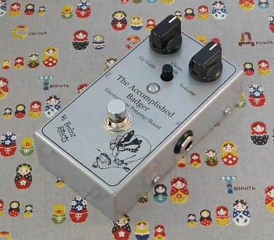 Fredric Effects Accomplished Badger Germanium boost/preamp boutique pedal UK