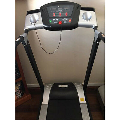 HealthStream Emerald GS101 Electric Machine Fitness Home Gym Treadmill Exercise