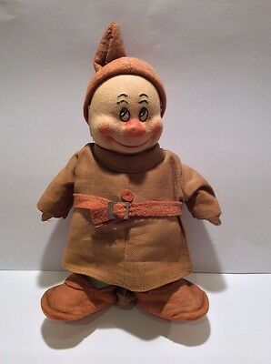 Rare Chad Valley 1930's Disney Snow White 'Dopey' Dwarf Doll/Figure