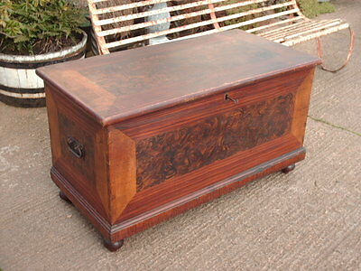 Victorian  Pine  Chest / Bedding  Box
