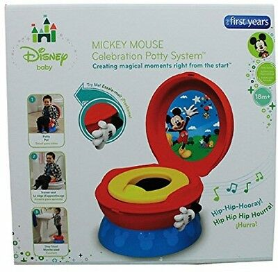 Potty Training Seat For Boys Girls Chair 3 In 1 Mickey Mouse Toddler