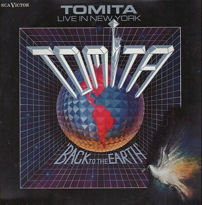 Tomita Live In New York - Back To The Earth RCA Victor Vinyl LP
