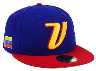 Official 2017 WBC Venezuela World Baseball Classic New Era 59FIFTY Fitted Hat