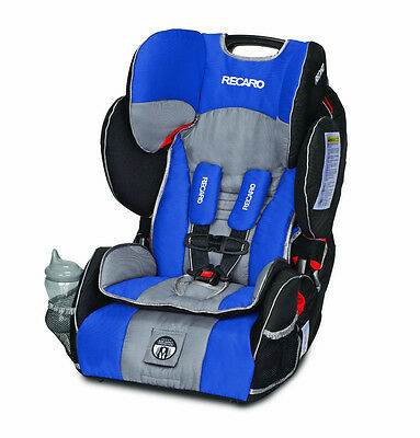 RECARO Performance SPORT Combination HARNESS BOOSTER, Baby CAR SEAT, Sapphire