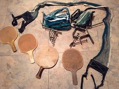Vintage Ping Pong Nets and Paddles    -17-