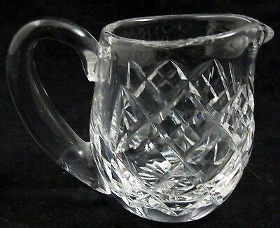 "WATERFORD KENMARE Crystal 3"" Tall Mini Small Creamer Excellent"