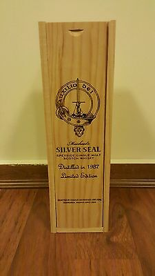 Muirheads Rare Silver Seal 1987 Limited Edition Single Malt in Box!!