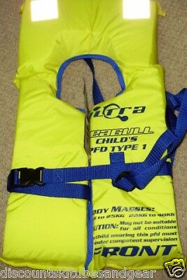 1 X Child Life Jacket Ultra Pfd1 50N Kids A Must Have 4All Boating Safety Needs